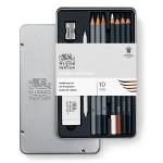 Crayon esquisse Studio Collection x 6 + outils