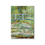 Mini Artbook Monet Pont 12 x 17 cm