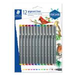 Feutre à pointe calibrée 0.5 Pigment Liner Set 12 couleurs