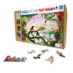Puzzle en bois 100 pièces La jungle