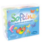 Pâte à modeler enfant Softine set 8 couleurs