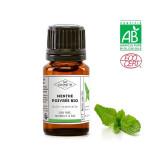 Huile essentielle de menthe poivrée d'Inde BIO 10 ml (AB)