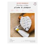 Kit DIY Porte-clés plume & pompon