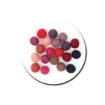 Boule en feutre 1,5 cm - Rouge
