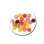 Boule en feutre 1,5 cm - Jaune