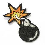 Ecusson thermocollant Bombe pop