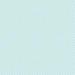 Coupon de tissu - Pois - menthe / blanc - 50 x 140 cm