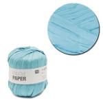 Creative Paper - Papier à crocheter - Turquoise - 55 m