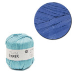 Creative Paper - Papier à crocheter - Bleu roi - 55 m