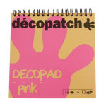 Bloc Color Décopad  Rose