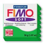 Pâte polymère Fimo Soft 57 g - 53 - Vert tropique
