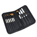 Pinceaux et couteaux à peindre Trousse de 10 outils