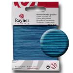 Fil de coton ciré 1 mm x 20 m - Turquoise