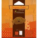 Pochette Origami Color - 12 x 12 cm -  Orange