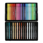 Feutres Stabilo Pen 68 - 40 couleurs assorties