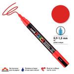 Marqueur PC-3M pointe conique fine - Rouge