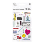 Stickers pour agenda Magical Summer Motivation x 6 planches
