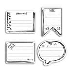 Notes repositionnables Bullet Journal 80 pcs