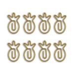 Trombone  Ananas 3 x 1,8 cm 8 pcs