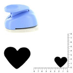 Moyenne perforatrice - Coeur 1 - h. 2.5 cm