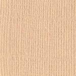 Papier Bazzill Toile 30,5 x 30,5 cm - 216 g/m² - Brun Fawn