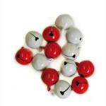 Grelot Ø 18 mm Rouge et blanc