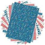 Bloc de papier imprimé Color Factory A4 Hygge 48 feuilles