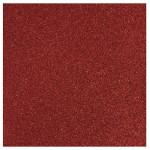 Papier pailleté rouge cardinal 30x30cm