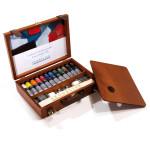 Coffret bois peinture huile extra-fine 40 ml par 12