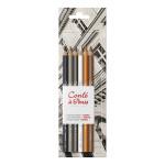 Crayon esquisse Set de 6 crayons