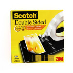 SCOTCH DBLE FACE 666 19MMX33MM