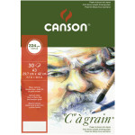 Bloc de papier C à Grain 224 g/m² 30 feuilles - 29,7 x 42 cm (A3)