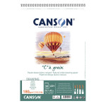 Album de papier C à Grain A3 - 180 g/m² - 30 feuilles