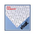 Plaque de plastique transparent 40 x 50 cm ep. 1,5 mm