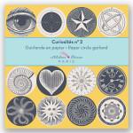 Guirlande 12 cercles illustrés Ø 11 cm x 3 m Cabinet de curiosités n°2