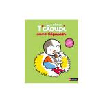 Album de coloriage T'choupi Mes coloriages sans dépasser : le chaton