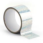 Ruban adhésif décoratif Queen Tape 48 mm x 8 m Argent