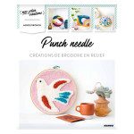 Punch needle Créations de broderie en relief