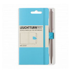 Attache stylo pour carnet Pen Loop Bleu Ice blue