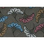 Coupon de tissu Wax imprimé Ethnique Himalaya 2 - 150 x 160 cm