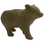 Cache-pot ours en papier mâché 20 cm