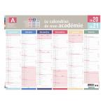 Calendrier 2020-2021 Mon académie Zone A