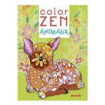 Album de coloriage Color Zen Animaux