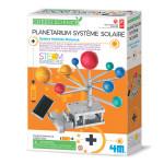 Planétarium système solaire hybride motorisé