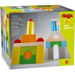 Jeu de construction Blocs en bois Multicolores 28 pcs