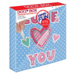 Broderie Diamant kit Dotz Box Enfant débutant Love you