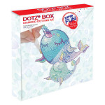 Broderie Diamant kit Dotz Box Enfant débutant Narwhal dreams