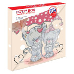 Broderie Diamant kit Dotz Box Enfant débutant Raining love