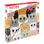 Broderie Diamant kit Dotz Box Enfant débutant Cat clan