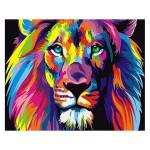 Peinture par numéros Lion Pop Art